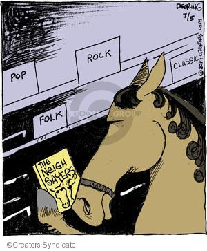 Pop. Rock. Folk. Classic. The Neigh Sayers.