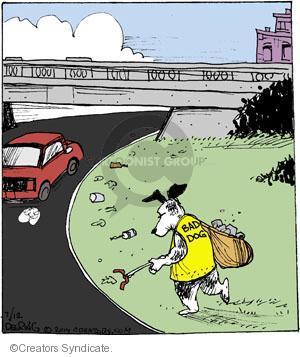 Comic Strip John Deering  Strange Brew 2014-07-12 side