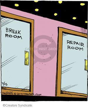 Comic Strip John Deering  Strange Brew 2014-07-15 department