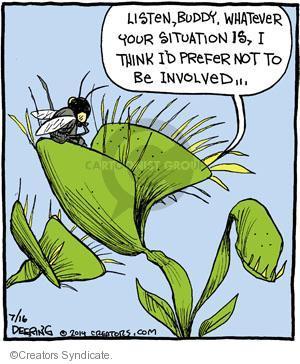 Comic Strip John Deering  Strange Brew 2014-07-16 your
