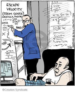 Comic Strip John Deering  Strange Brew 2014-07-19 Doritos