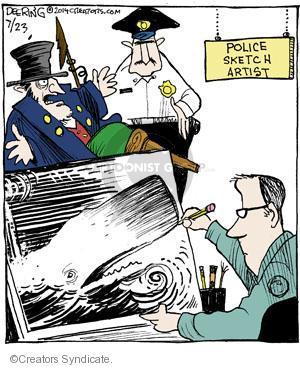 Cartoonist John Deering  Strange Brew 2014-07-23 Dick