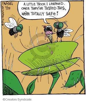 Comic Strip John Deering  Strange Brew 2014-07-24 trick