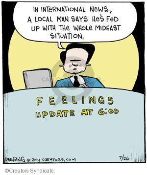 Comic Strip John Deering  Strange Brew 2014-07-26 fed