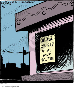 Comic Strip John Deering  Strange Brew 2014-08-02 all-you-can-eat