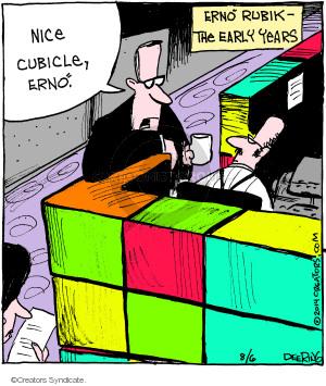 Comic Strip John Deering  Strange Brew 2014-08-06 Rubik's cube