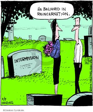 Cartoonist John Deering  Strange Brew 2014-08-09 past