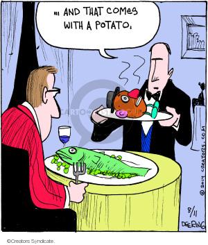 Comic Strip John Deering  Strange Brew 2014-08-11 side