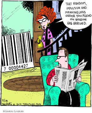 Comic Strip John Deering  Strange Brew 2014-08-18 product