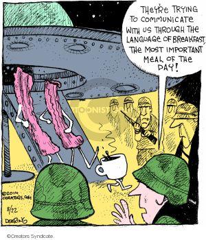 Comic Strip John Deering  Strange Brew 2014-08-22 language