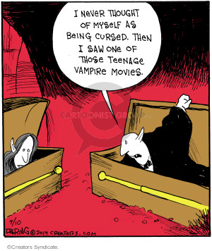 Comic Strip John Deering  Strange Brew 2014-09-10 curse