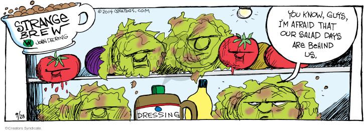 Cartoonist John Deering  Strange Brew 2014-09-28 past