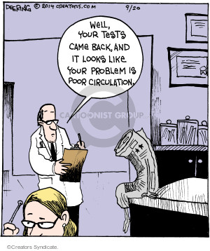 Cartoonist John Deering  Strange Brew 2014-09-20 problem