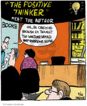 Comic Strip John Deering  Strange Brew 2014-09-22 book signing