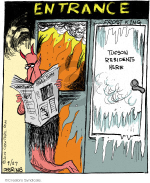 Cartoonist John Deering  Strange Brew 2014-09-27 king