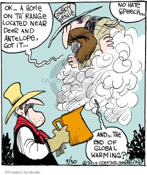 Comic Strip John Deering  Strange Brew 2014-09-30 speech