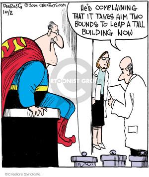 Comic Strip John Deering  Strange Brew 2014-10-02 patient