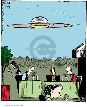 Comic Strip John Deering  Strange Brew 2014-10-07 outdoors