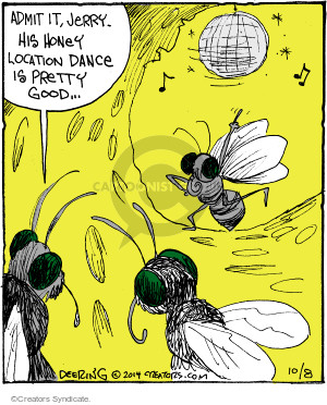 Comic Strip John Deering  Strange Brew 2014-10-08 dancer
