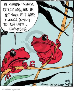Comic Strip John Deering  Strange Brew 2014-10-09 attack