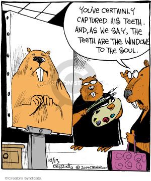 Comic Strip John Deering  Strange Brew 2014-10-13 genuine