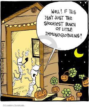 Comic Strip John Deering  Strange Brew 2014-10-21 trick