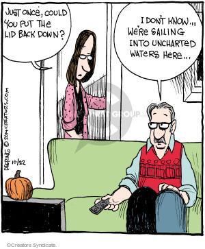 Comic Strip John Deering  Strange Brew 2014-10-22 female