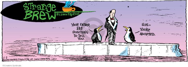 Comic Strip John Deering  Strange Brew 2014-11-02 adoption