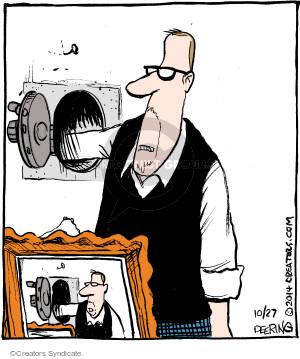 Comic Strip John Deering  Strange Brew 2014-10-27 wall