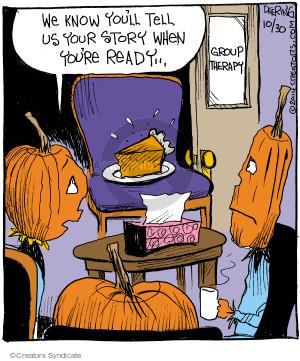 Comic Strip John Deering  Strange Brew 2014-10-30 pumpkin pie