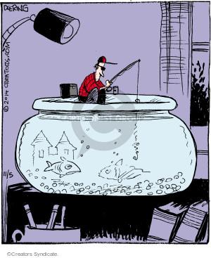 Comic Strip John Deering  Strange Brew 2014-11-05 fish
