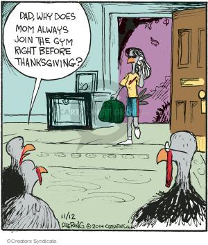 Comic Strip John Deering  Strange Brew 2014-11-12 Turkey