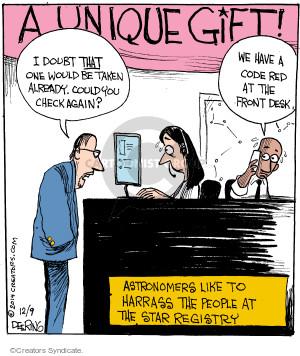 Comic Strip John Deering  Strange Brew 2014-12-09 check