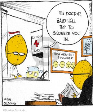 Comic Strip John Deering  Strange Brew 2014-12-15 patient