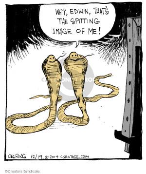 Comic Strip John Deering  Strange Brew 2014-12-19 painting