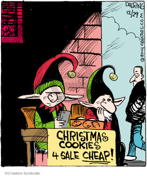 Cartoonist John Deering  Strange Brew 2014-12-29 cookie