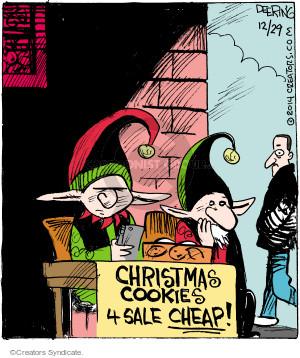 Comic Strip John Deering  Strange Brew 2014-12-29 treat
