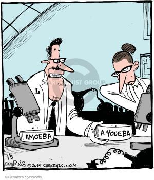 Comic Strip John Deering  Strange Brew 2015-01-05 amoeba