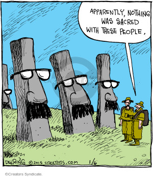 Comic Strip John Deering  Strange Brew 2015-01-06 Easter