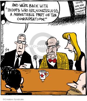 Comic Strip John Deering  Strange Brew 2015-01-14 expert