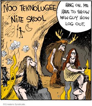 Cartoonist John Deering  Strange Brew 2015-01-15 teacher