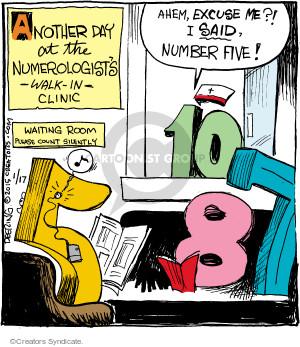 Comic Strip John Deering  Strange Brew 2015-01-17 nurse