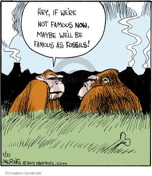 Comic Strip John Deering  Strange Brew 2015-01-21 primate
