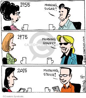 Comic Strip John Deering  Strange Brew 2015-01-27 1955