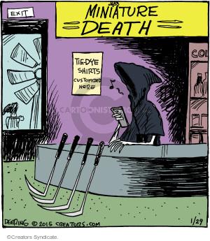 Comic Strip John Deering  Strange Brew 2015-01-29 miniature