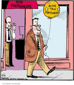 Cartoonist John Deering  Strange Brew 2015-02-03 tax
