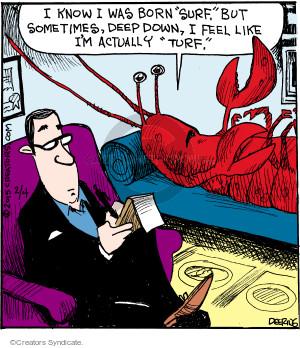Comic Strip John Deering  Strange Brew 2015-02-04 difference