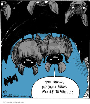 Comic Strip John Deering  Strange Brew 2015-02-05 strange