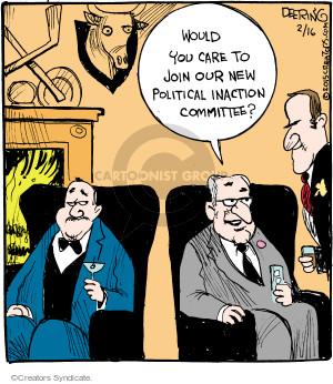 Comic Strip John Deering  Strange Brew 2015-02-16 care