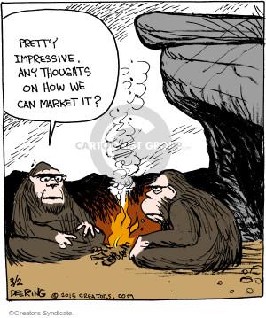 Comic Strip John Deering  Strange Brew 2015-03-02 product